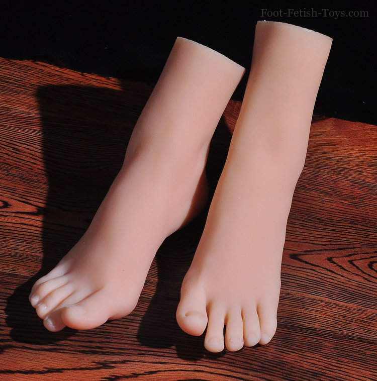 girl foot toys
