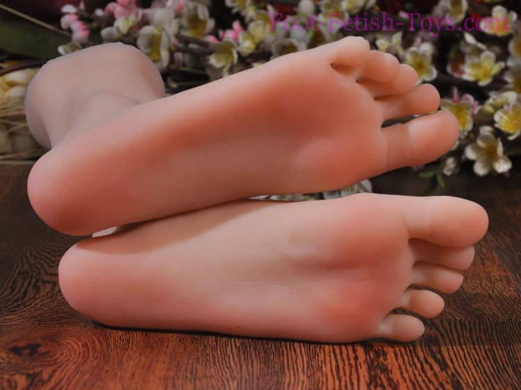 Foot fetish lady
