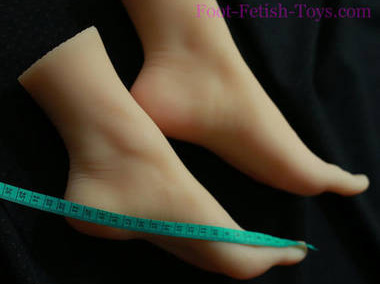 silicone foot fetish doll