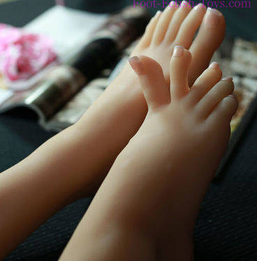 silicone Foot worship toy
