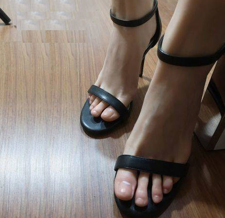 silicone foot fetish pro