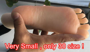 silicone Teen girl feet fetish toy