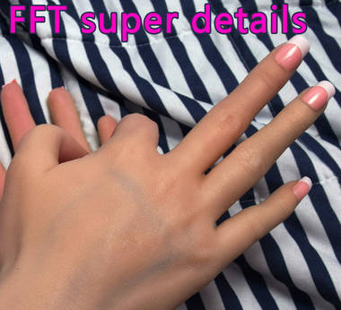 silicone girl sexy hands