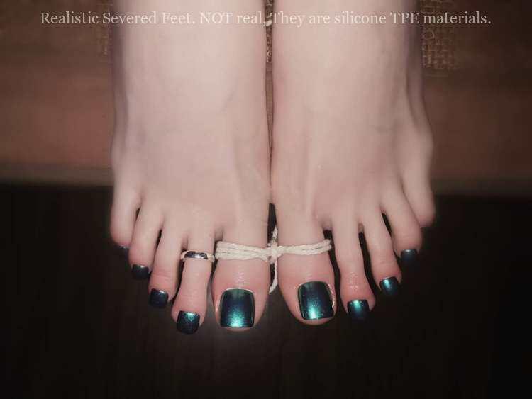 Realistic Severed Feet