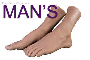 silicone Man s feet lover