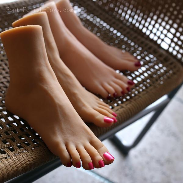 silicone foot fetish toys