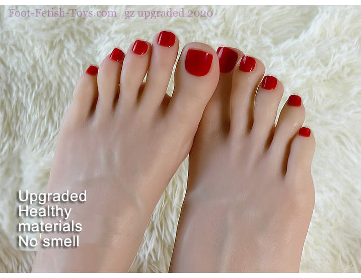 Feet worship toy