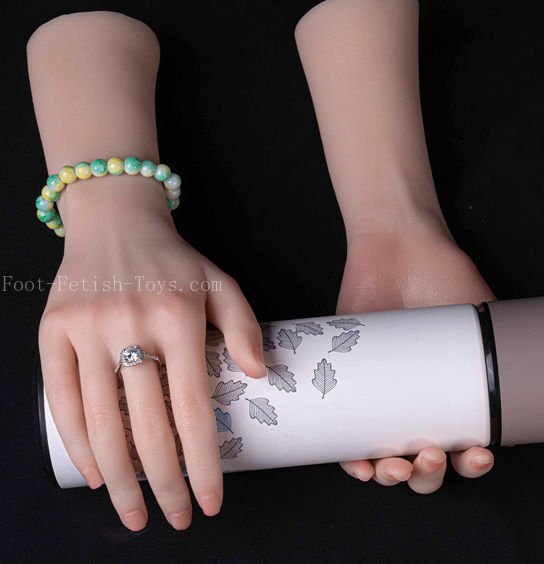silicone girl hand model