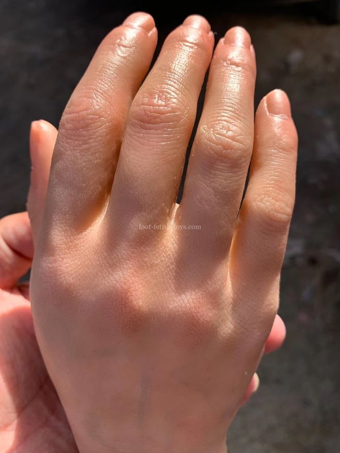 realistic life size hands